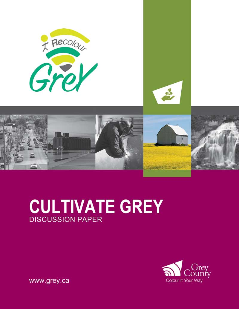 Cultivate Grey Cover page