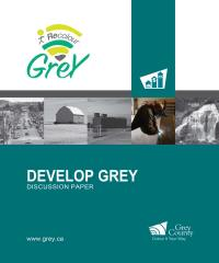 Develop grey cover page