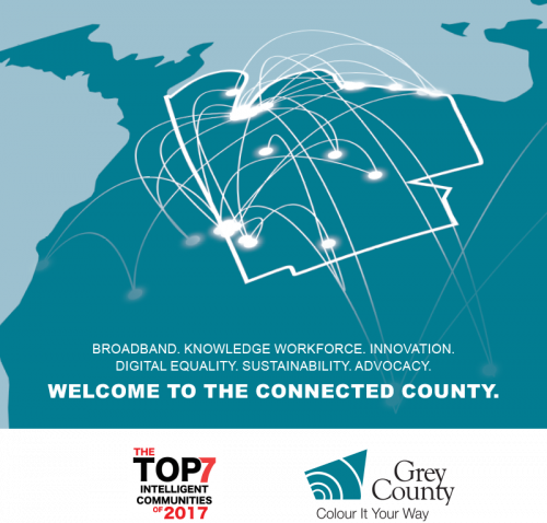 Broadband. Knowledge Workforce. Innovation. Digital Equality. Sustainability. Advocacy. Welcome to the connected county.