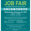 Poster for the 2018 regional Job fair.