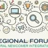 Regional forum poster with icons