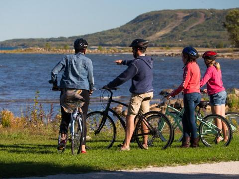 Cycling in Meaford