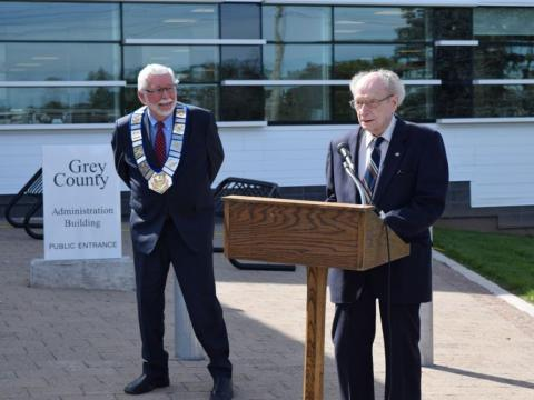 Past Warden Elwood Moore shares some memories of the initial grand opening in 1961.
