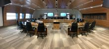 The new Grey County Council Chamber