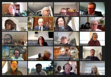 screen capture from council Zoom meeting