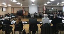 Grey and Bruce County Council at a meeting in Elmwood
