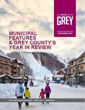 Cover of the December 2017 Made in Grey  Magazine