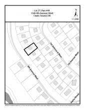 Image showing residential property location on 8th avenue west in Owen Sound
